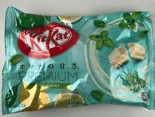 NEW 1 bag CITRUS MINT KitKat - Japanese Kit Kat kats White Chocolate
