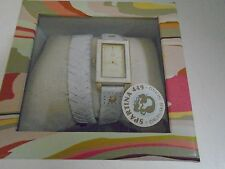 Spartina Wristwatch Shell Beach Wrap Watch New in Box White 339 Daufuskie SC