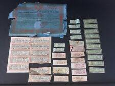 LOT ACTIONS ET BONS AU PORTEUR - rare Japon 1912, Italie, France...à identifier
