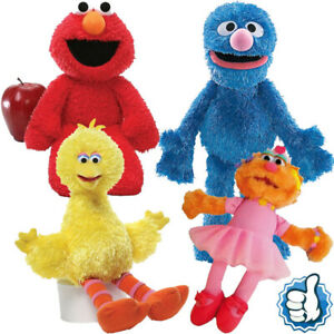 Elmo Cookie Big bird Soft Plush Toy Dolls Worth Collection Toys gift for kids AU