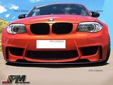 For BMW E82 E88 128i 135i M Sports DP Style Carbon Fiber Front Lip Spoiler Fit