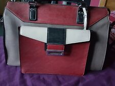 Marks and spencers two toned constructed handbag