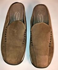 Women's Merrell Primo Seam Mules Clogs Shoe Size US 6 Tan Leather Air Cushion