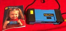 Vintage 1984 Fisher Price/Kodak 110 (Film) Kid Camera with Neck Strap and Manual