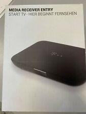 Telekom Entry 1080p Start TV-Receiver, Schwarz, nur für Magenta TV, NEU