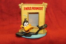 """FIGI GRAPHICS LOONEY TUNES DAFFY DUCK PICTURE FRAME """"I WAS FRAMED"""""""