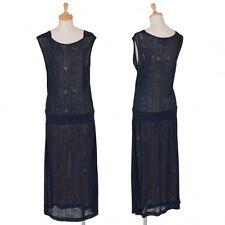 KENZO Jacquard switching dress Size 36(K-33766)