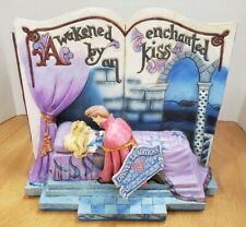 Jim Shore Disney Traditions Aurora Enchanted Kiss StoryBook #4043627