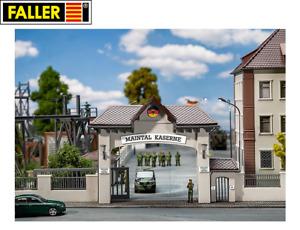 Faller Military H0 144100 Kasernen-Haupteingang - NEU + OVP
