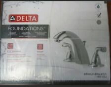 Delta Foundations B3511LF-PPU-ECO Two Handle Widespread Lavatory Faucet Chrome
