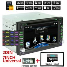 Bluetooth Car Stereo HD DVD CD Player 2Din Radio the Map Card Of North America