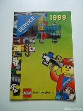 Dépliant Lego 1999