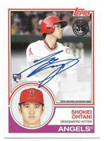 Shohei Ohtani 2018 Topps Series 2 1983 TOPPS ROOKIE AUTO Autograph Angels SP RC