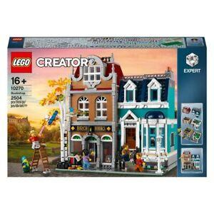 LEGO 10270 Creator Expert Bookshop Construction Set - New in Sealed Box