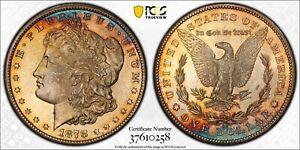 1878-CC Morgan Silver Dollar $1 PCGS MS 65