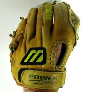 "MIZUNO Franchise MFR 1200 Leather Baseball Glove 12"" RHT Power Lock Tartan Web"