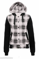Waist Length Check Autumn Coats & Jackets for Women