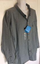Mens Columbia Sportswear 4X AX1481-441 long sleeve button up shirt casual NWT@