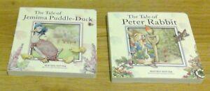 The Tale Of Jemima Puddle-Duck + Peter Rabbit -  Beatrix Potter hardback books