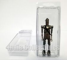 STAR WARS BLISTER CASE LOT OF 2 Action Figure Display Protective Clamshell LARGE