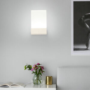 Dimmable/N 6W LED Wall Mount Light Fixture Acrylic Indoor Lamp Bedroom SMD 2835