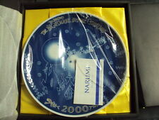 Tim Burton's Nightmare Before Christmas 2000 Year Commemorative Plate LTD 2400