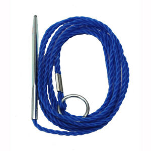 Eagle Claw 6' Heavy Duty Polyethylene Twisted Fish Stringer Blue 04300-001