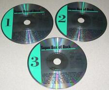VARIOUS ARTISTS - Super Box of Rock (CD, 3 Discs 1924, Dominion)