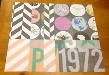 Scrapbook/Cardmaking Paper Pack - 8 Sheets - 4 Designs - 15x15cm - Pack125