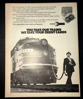 Life Magazine Ad AMTRAK Trains 1972 Ad