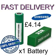 Samsung 18650 3.7V 2.5Ah Li-ion Rechargeable Battery - 4 Pieces