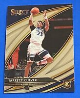JARRETT CULVER 2019-20 Select COURTSIDE ROOKIE SP RC MINNESOTA TIMBERWOLVES #248