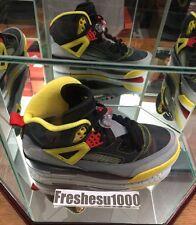 Nike Air Jordan Spizike 3M Size 12 Yellow/Gray/Black Colorway Steelers Spike