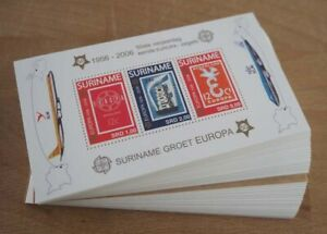 2006 Suriname; 200 Blocks Europa, Bl. 100, postfrisch/MNH, ME 2200,-