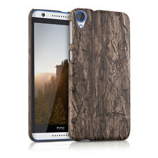 HARD COVER VINTAGE WOOD FOR HTC DESIRE 820 BROWN CASE BACK SHELL BUMPER MOBILE