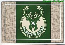 127 TEAM LOGO USA MILWAUKEE BUCKS STICKER NBA BASKETBALL 2017 PANINI