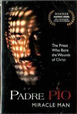 PADRE PIO MIRACLE MAN(AUDIO INGLES/ESPANOL/ITALIAN NEW DVD) PG-13 RELIGIOSA