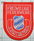GERMANY, STADT BERGEN FREIWILLIGE FEUERWEHR FIRE DEPT FELT PATCH