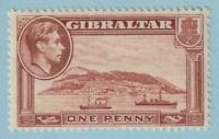 GIBRALTAR SG 122d  PERF 13  MINT NEVER HINGED OG ** NO FAULTS EXTRA FINE !