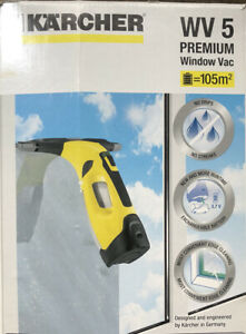 Karcher WV5 Window Vac Cordless Rechargeable Vacuum Cleaner with charger