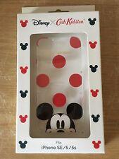 Cath Kidston x Disney Mickey Mouse iphone 5/5s case BNIB