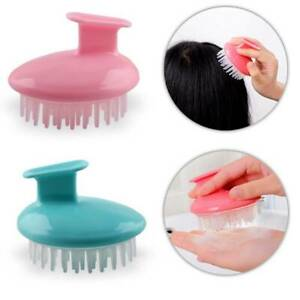 Silicone Scalp Shampoo Massage Brush Washing Massager Shower Head Cnsdm UhNFt