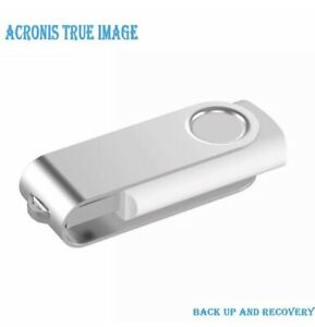 Acronis True Image 2019 128GB USB Drive Data Backup/Restore Clone Copy Migrate