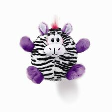 DEMDACO Plush Toy, Giggaloos Zebra