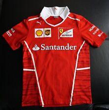 Piero Ferrari (son Enzo) signed official t-shirt Ferrari 2017.