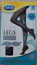 Scholl Light Legs Compression Tights 20 Den Black - Medium