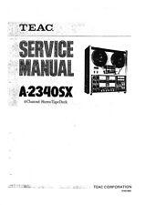 Service Manual-Anleitung für Teac A-2340 SX