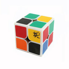 New Dayan Zhanchi 46MM White 2x2x2 Magic Cube 2x2 Puzzle Spring Speed Rare