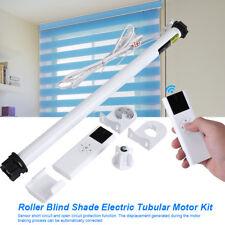 100-240V Roller Blind Motor Kit Soft Window Curtain Close Shutter Tubular Motor