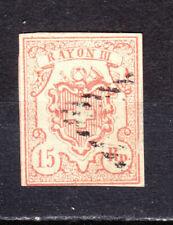 Schweiz RAYON III gest